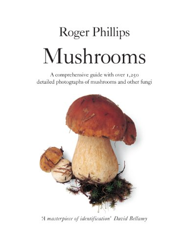 Mushrooms: A comprehensive guide to mushroom identification (English Edition)