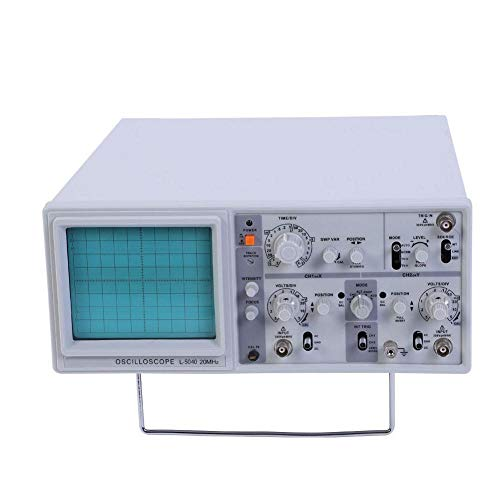 【𝐏𝐫𝐨𝐦𝐨𝐜𝐢ó𝐧 𝐝𝐞 𝐒𝐞𝐦𝐚𝐧𝐚 𝐒𝐚𝐧𝐭𝐚】Osciloscopio de doble traza de canales duales, osciloscopio analógico de alta sensibilidad(L-5040-UE)