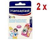 2 x Hansaplast Pflaster - Kids Disney Princess - 16 Streifen