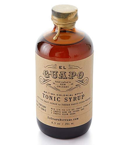 El Guapo British Colonial Style Tonic Syrup - 8.5 fl oz