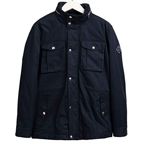 GANT La chaqueta acolchada de cuatro bolsillos. - azul - Small