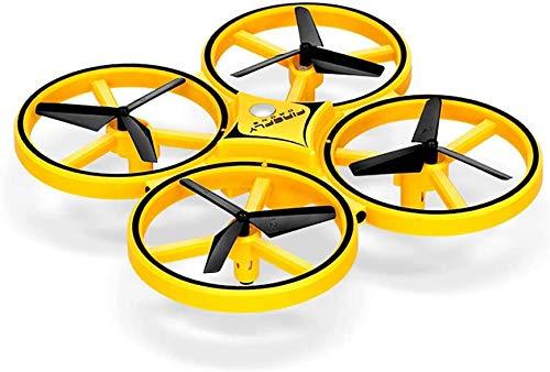 Kloktype positiebepaling vliegtuig speelgoed, vier onbemande luchtvaartuigen automatische barrières, drukinstelling, 360 ° flap voorkomen