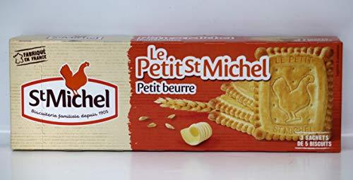Le petit St Michel petit beurre, Kekse mit Butter aus Frankreich, 180g.