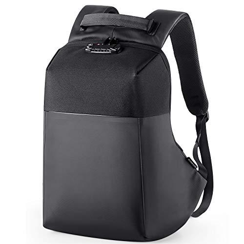 NATURALIFE Laptop Rucksack 15,6 Zoll Wasserdicht, Anti-Diebstahl Laptop für Männer, Notebook Rucksack...