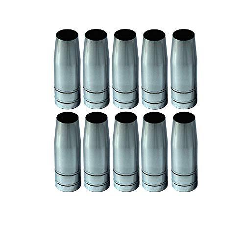 10 x Gasdüse konisch NW-12,0 mm MIG-MAG 14,15, steckbar