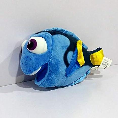 Peluches 17cm Finding Dory Blue Fish Peluches Muñeca Suave para Regalo De Niños