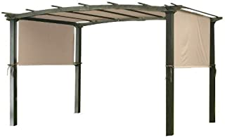 "Garden Winds Universal Replacement Pergola Canopy - 205"" x 80"" – Riplock 350"