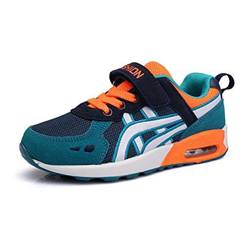 Unisex Niños Deportes Cojín de Aire Zapatos para niños Zapatillas de Deporte Respirables Cómodos Zapatos Casuales