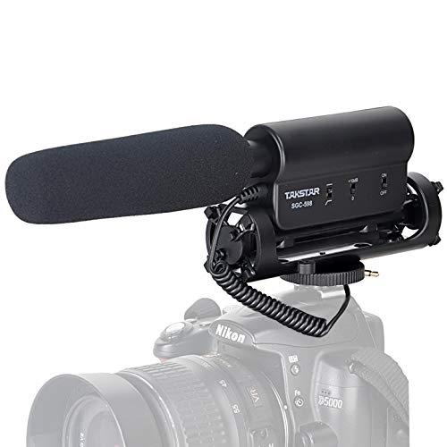 Micrófono de la cámara TAKSTAR SGC-598 Fotografía Profesional Entrevista...