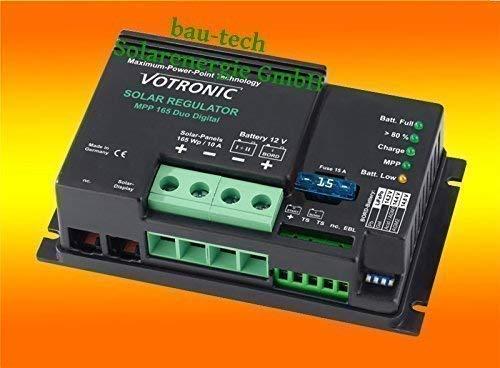 Votronic Carica Solare Mpp 165/10 per /12Volt/165Watt Mppt Regler Von Bau-Tech Energia Solare Gmbh
