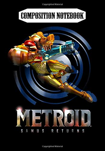Composition Notebook: Nintendo Metroid Samus Returns Jump Action Graphic, Journal 6 x 9, 100 Page Blank Lined Paperback Journal/Notebook