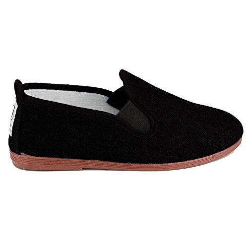 javer - Calzado Kung-FU NIÑOS Niñas Color: Negro Talla: 32