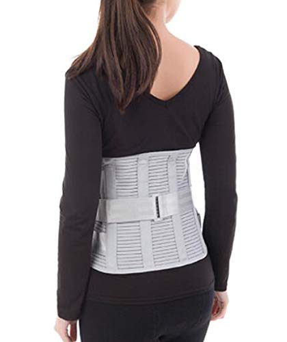 Lumbar Support Belt Lumbosacral Back Brace for Lower Back Pain – Ergonomic Design and Breathable Material - XL(37.40