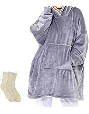 YESDEX Soft Comfortable Warm Wearable Blanket (Multi Colors Select)