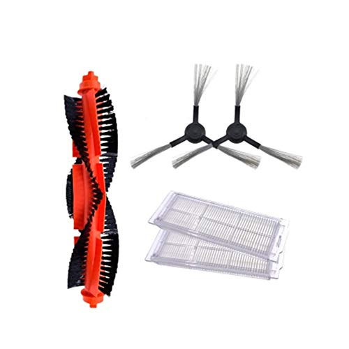 Sale!! Meizi Main Brush Hepa Filter Side Brushes Mop Cloth Fit for Xiaomi Robot Vacuum Cleaner STYJ0...