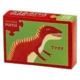 Crocodile Creek Two-Sided Puzzle T-Rex/Corythosaurus