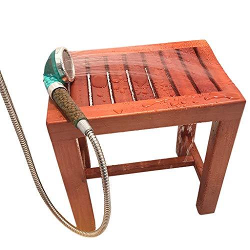FXLYMR Duschsitzwanne Transferbank - Soild Wood Bath Amp; Duschhocker-Stuhl - Medizinische Badezimmerhilfe - Für Behinderte, Senioren, Bariatric