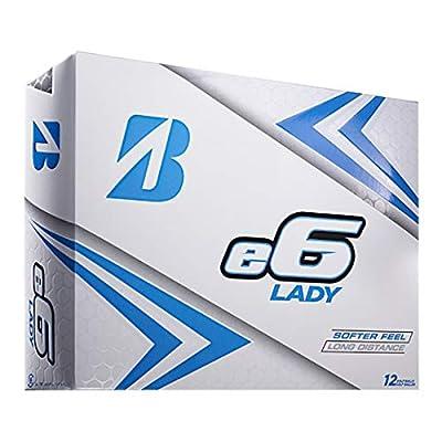 Bridgestone 2019 e6 Lady White Golf Balls (One Dozen)