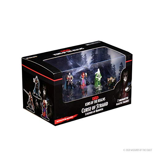 WizKids D&D Icons of The Realms: Curse of Strahd - Legends of Barovia Premium Box Set
