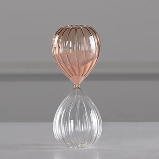 ZLBYB Creative Colorful Sandglass Clock Hourglass 10/30/60 Minutes Hourglass Timer Home Decorative Items Arts Gifts for Ki...