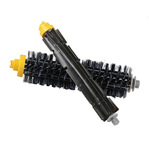 Borstenbürste für Irobot Roomba 600 620 630 650 700 Staubsauger, 1 Paar Borstenpinsel, Staubsauger Zubehör Ersatzteil-Kit Ersetzten, Zubehör für den Innenbereich