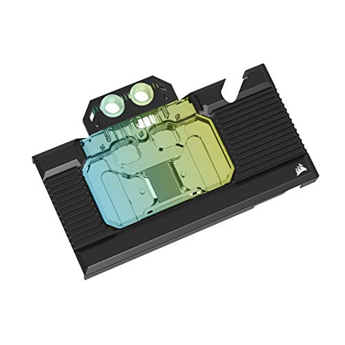 Corsair Hydro X Series XG7 RGB 30-SERIES FOUNDERS EDITION GPU Water Block (3080) - Compatible con NVIDIA® GeForce RTX™ (3080)