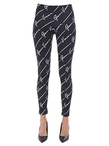 Luxury Fashion | Versace Dames A83807A233277A7008 Zwart Elasthaan Leggings | Lente-zomer 20