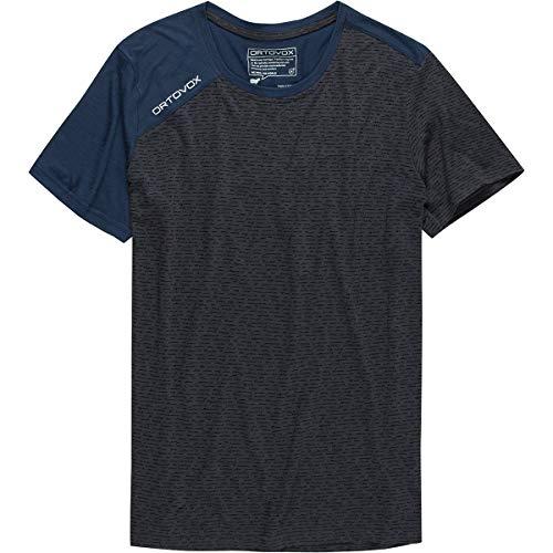 ORTOVOX Herren 120 Tec T-Shirt, Black Steel, L
