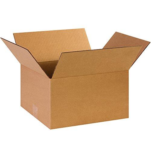 BOX USA B14128 Corrugated Boxes, 14