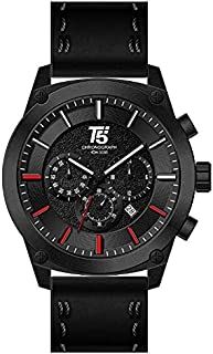 T5 Casual Watch For Men Analog Leather - H3514G-A