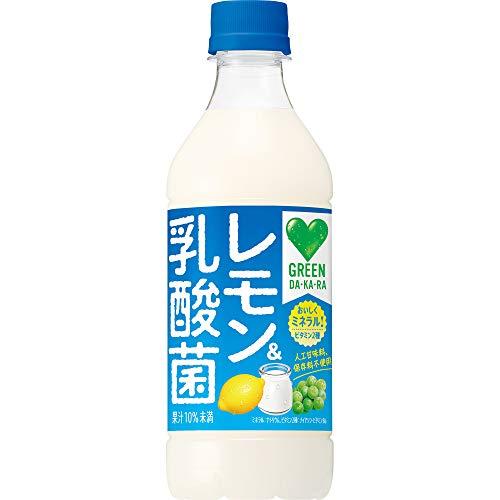 サントリー Green DA・KA・RA レモン&乳酸菌 430ml ×24本