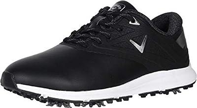 Callaway Women's Coronado Golf Shoes, Black, 7, B