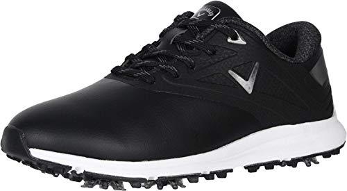 Callaway Women's Coronado Golf Shoe, Black, 7.5