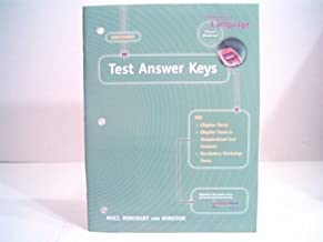 Elements of Language Assessment First Course Test Answer Keys