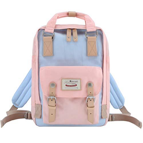 "Himawari Backpack/Waterproof Backpack 14.9"" College Vintage Travel Bag for Women,13inch Laptop for Student (HM-42#)"