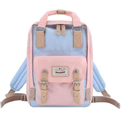 Himawari Backpack/Waterproof Backpack 14.9' College Vintage Travel Bag for Women,13inch Laptop for Student (HM-42#)