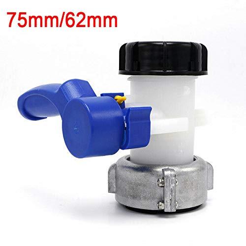 BE-Tool Butterfly-Ventil, Ventil-Wasserhahn, Korrosionsschutz, IBC Tank-Wasser-Adapter, Anschluss Ersatzventil