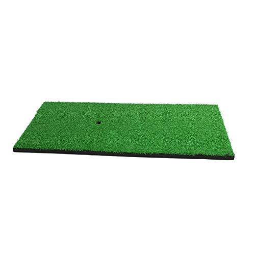 Posma HM040AC - Juego de alfombrillas de golf (30 x 60 cm, 3 piezas de goma en la parte superior + 2 bolas de correr + 6 bolas de poliuretano + 1 red portátil de enganche de golf, para interiores)
