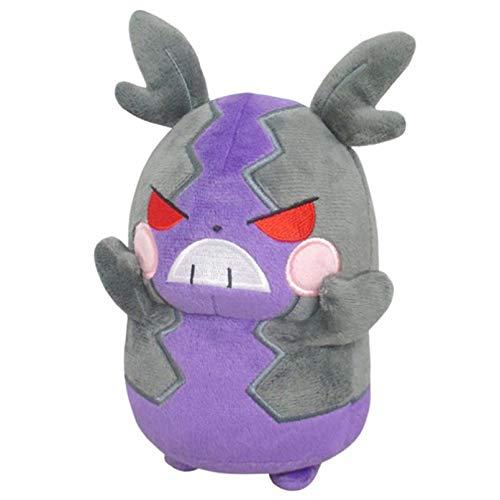 YCEOT Monstruo de Bolsillo Original Galar Hungry Morpeko muñeco de Peluche Espada Escudo Peluche Anime Juguete Dibujos Animados 17 cm Regalo