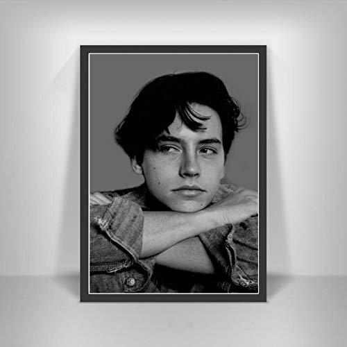 Zhengnengliang Cole Sprouse póster Imprime Serie de televisión Actor Estrella de Cine Lienzo Arte Pintura Cuadros Pared para decoración de Sala de Estar hogar 50x70cm in J-1536