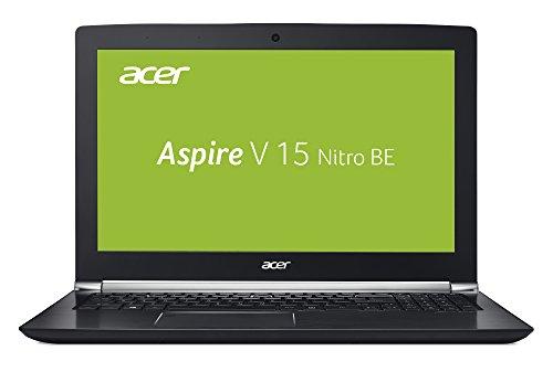 Acer Aspire V 15 Nitro Black Edition VN7-593G-73E7 39,6 cm (15,6 Zoll Ultra-HD IPS matt) Gaming Notebook (Intel Core i7-7700HQ, 16GB RAM, 256GB PCIe SSD, 1,000GB HDD, NVIDIA GeForce GTX 1060, 6GB VRAM, Win 10) schwarz