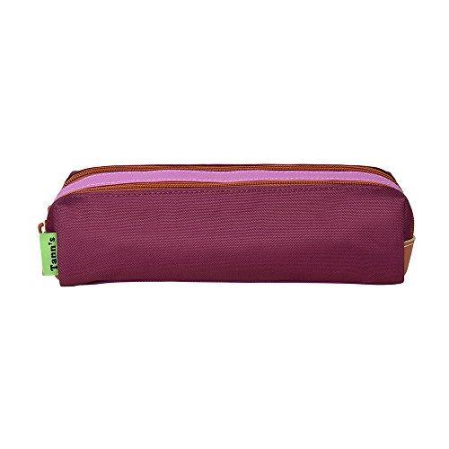 Trousse double violet-parme Tann's ICONIC
