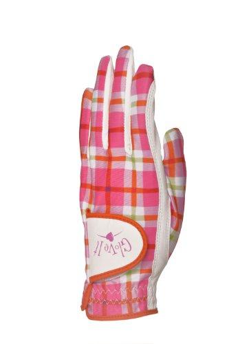 GloveIt Guantes de golf Santa Cruz para mujer, pequeños, mano izquierda