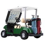 Aoutecen Cadeau de Golf de Chariot de Calendrier perpétuel de Golf léger Stable Pratique pour Le Golfeur