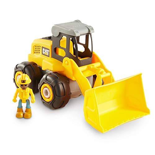 Cat Construction Build Your Own Junior Crew Wheel Loader Building Toy