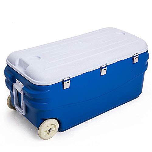 AGQLT Koelbox Outdoor Fresh Box 100L Auto PU Koelbox Medische Drug Koelkast Koude Ketting Transport Box 89 * 43 * 43CM
