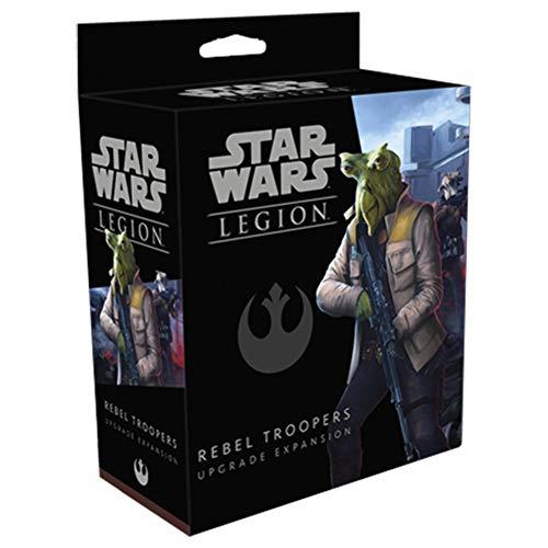 Fantasy Flight Games FFGSWL53 Star Wars: Legion-Rebel Trooper Ampliación de actualización, Varios