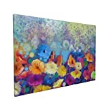 Jreergy Canvas Wall Art For Bedroom Floral Watercolor Painting Canvas Wall Art Print Artwork Wall Pictures For Living Room Home Decor 16x24inch