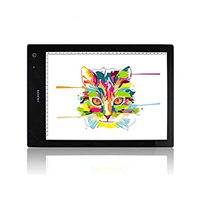 Huion LB4 Light Box Wireless Battery Powered Ultra-Thin Portable A4 Size LED Light - 12.6x9 inch