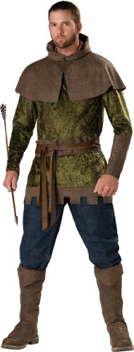 In Character - Costume da Robin Hood, Uomo, taglia: XL